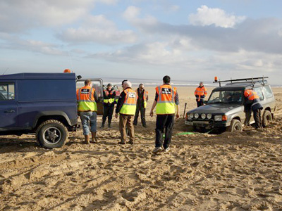 Lincolnshire 4x4 Response Beach Recovery