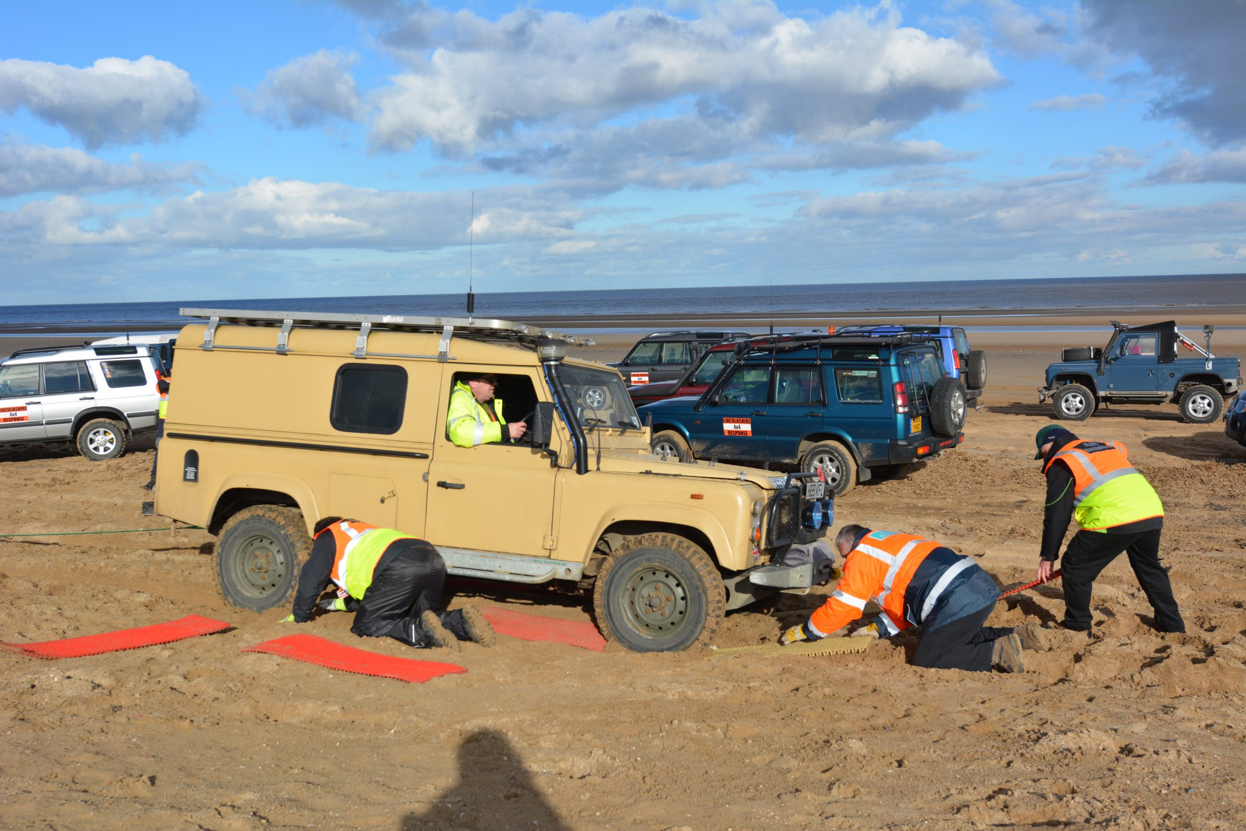 Lincolnshire 4x4 Beach Recovery