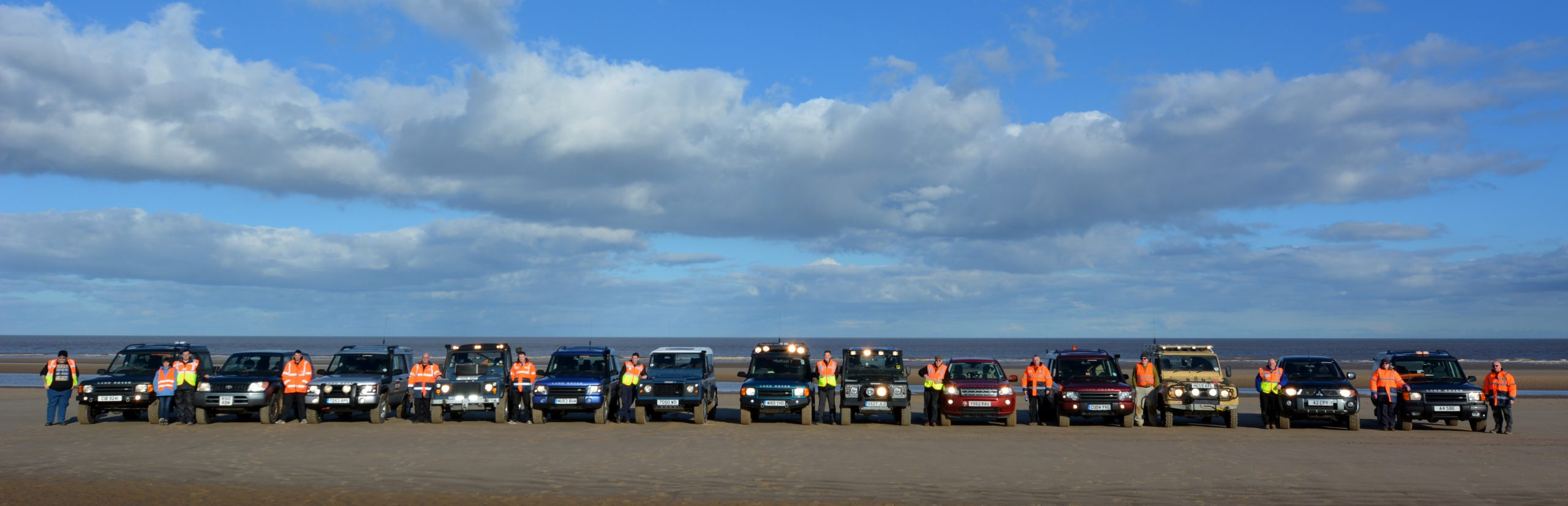 Lincolnshire 4x4 Response Beach Training