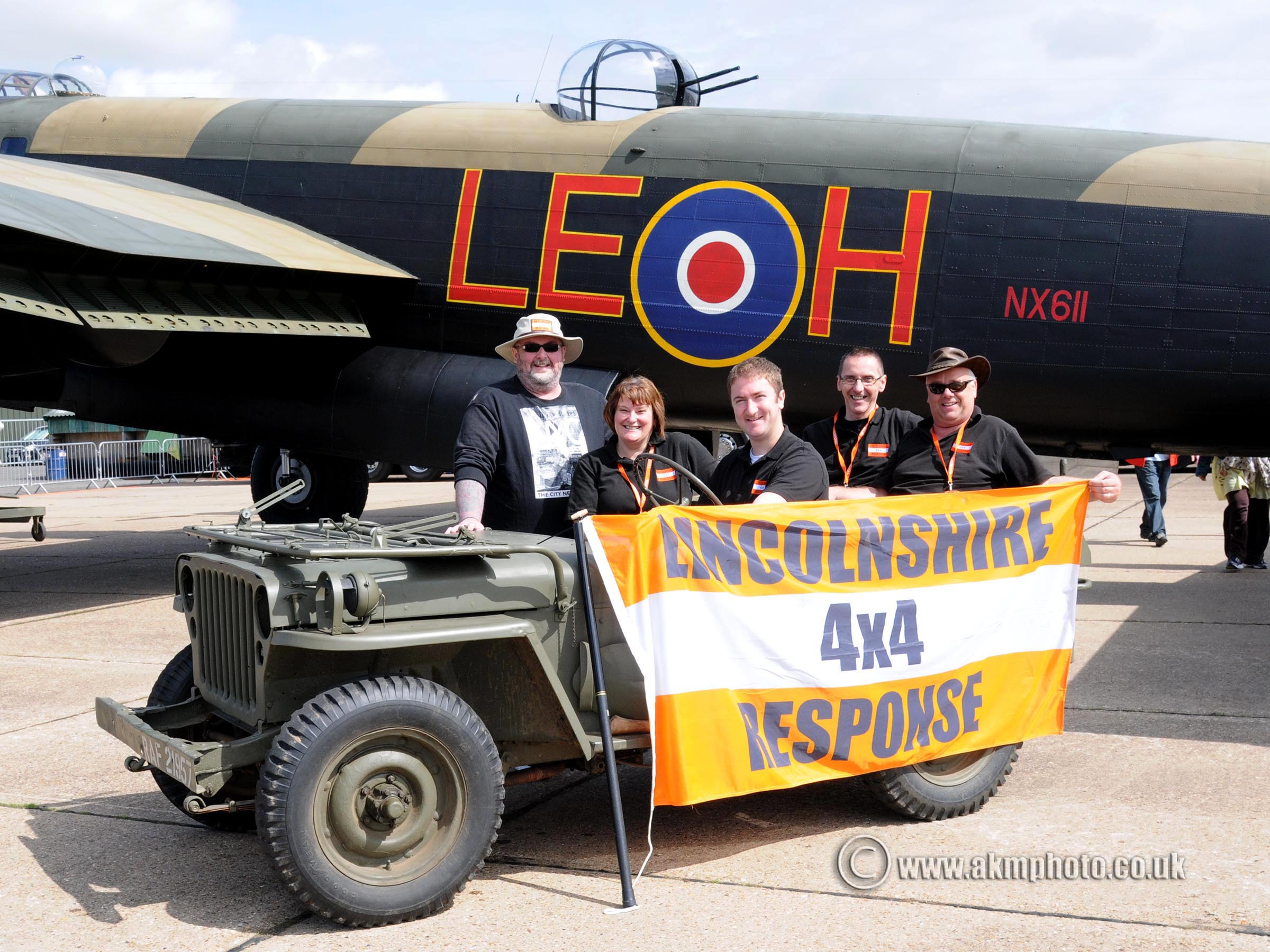 Lincolnshire 4x4 Response at the Lincolnshire Aviation Heritage Center